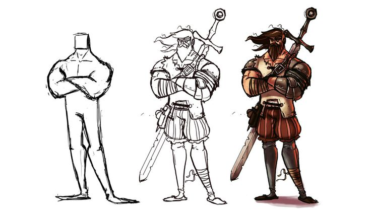 Creating a character : Cross of the Dutchman