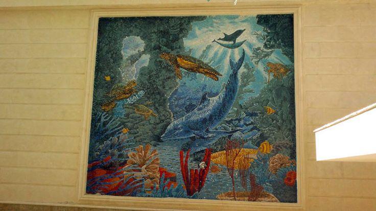 Mosaic aquarium 2