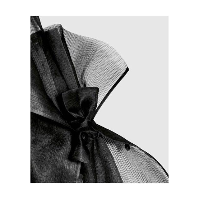 #robertswood AW16 Sheer silk T-shirt Apron #detail