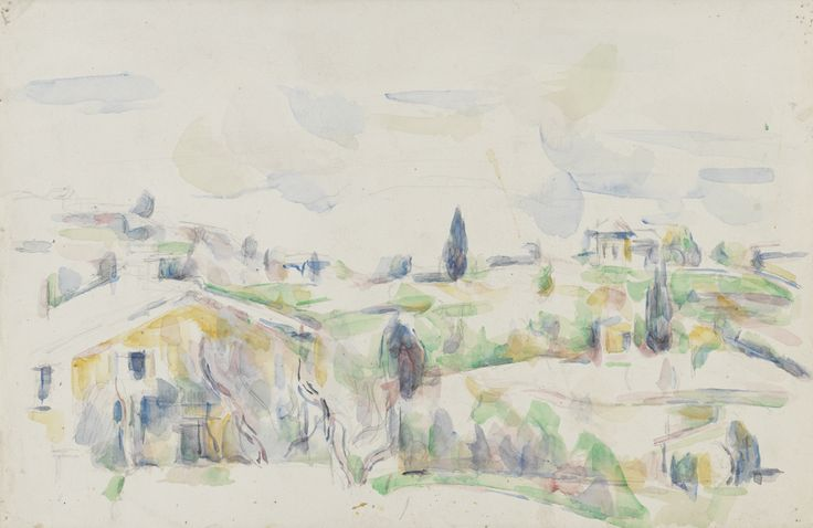 thusreluctant:  Landscape in Provence by Paul Cézanne