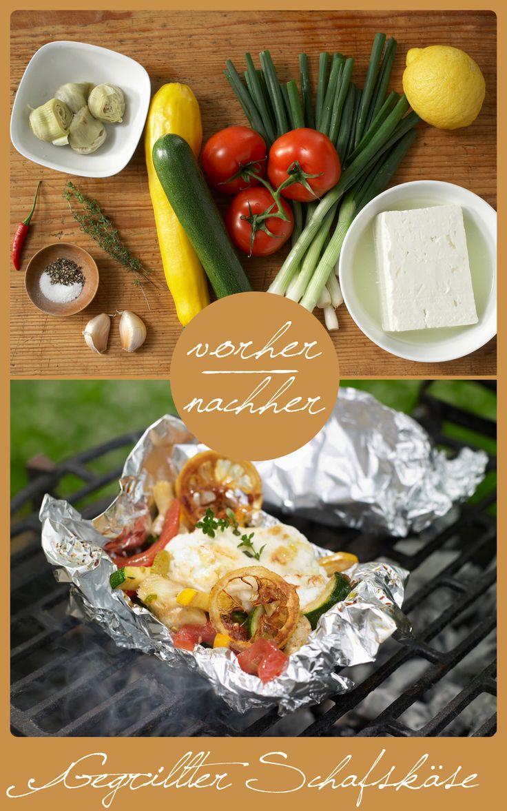 http://eatsmarter.de/rezepte/gegrillter-schafskaese  Die perfekte Steak- und Wurstalternative für Vegetarier.