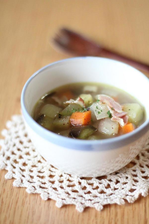ミネストラ ~具だくさんスープ~ by ゆう | レシピサイト「Nadia ...