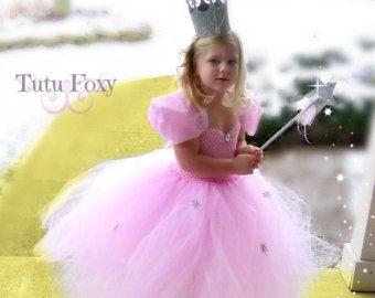 Glinda Tutu Dress, Good Witch Tutu Dress, Glinda Costume, Glida Dress, Wizard