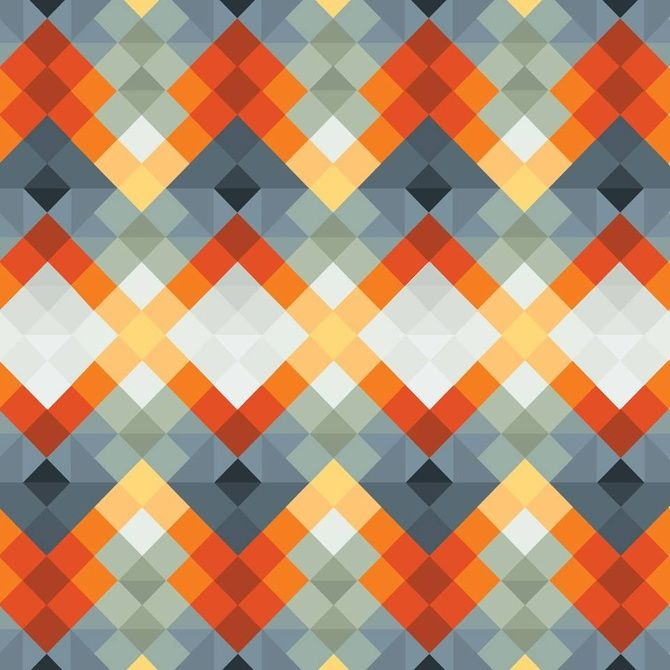 Pattern Collage - sallie harrison...lots of great ideas for quilt pattern design from geometric patterns.