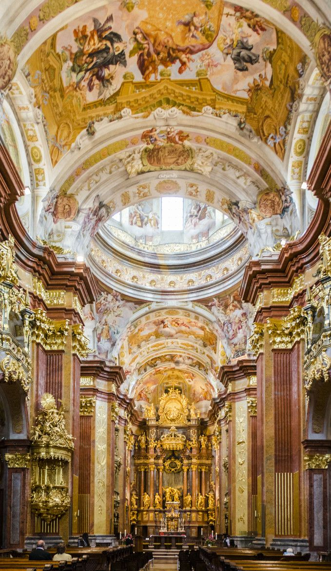 Abbey of Melk in Lower Austria, which is among the world's most famous monastic sites.
