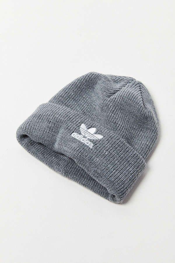 f1a80330905279 alternate view of womens adidas originals trefoil ii knit beanie hat ...