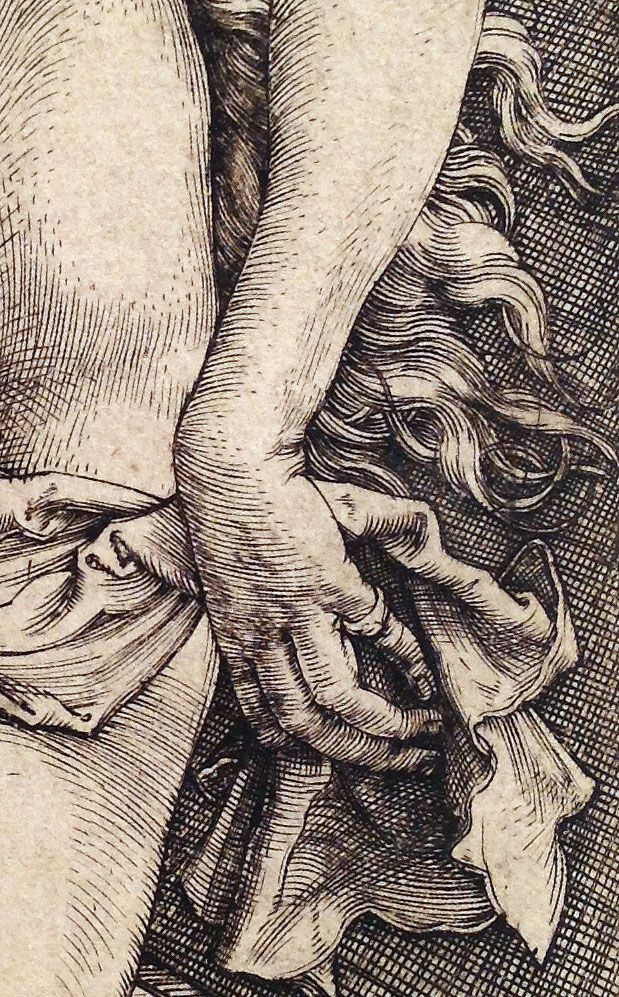 Albrecht Dürer ~ The Temptation of the Idler (The Dream of the Doctor) (detail), c.1498