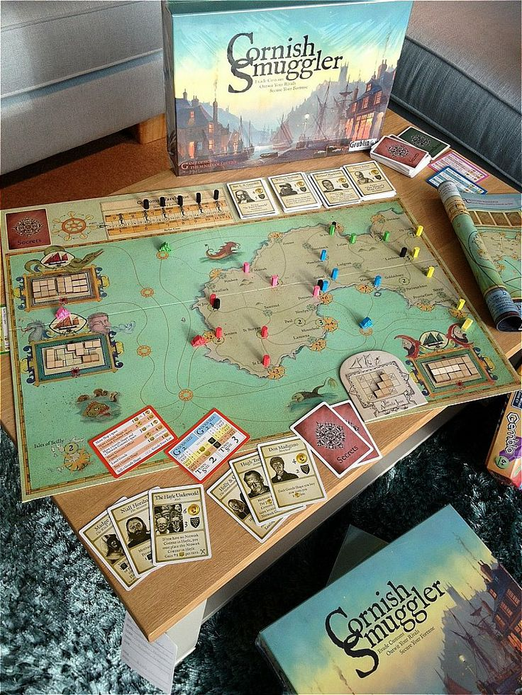 I really enjoy this one. Looks great and has loads of ways you can try to mess up opponents smuggling attempts. Cornish Smuggler