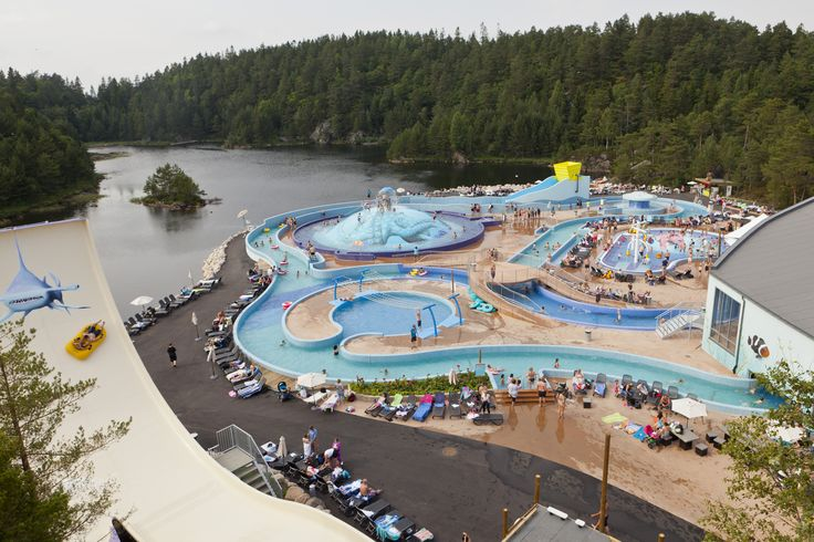 Badelandet, the water park in Dyreparken is the perfect destination for holiday with children. www.dyreparken.no Photo: Dyreparken Kristiansand in Southern Norway