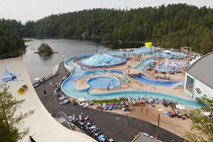 Badelandet, the water park in Dyreparken is the perfect destination for holiday with children. www.dyreparken.no Photo: Dyreparken Kristiansand in Southern Norway