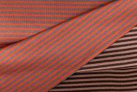 Doubleface Oranje/kaki bruin | Hazeltjes | Online bestellen