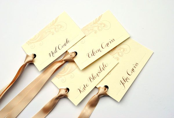Place Card | Wedding place card tags » Calligraphy in the UK 2011 blog