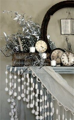 I love the idea of using so many clocks to ring in the New Year!
