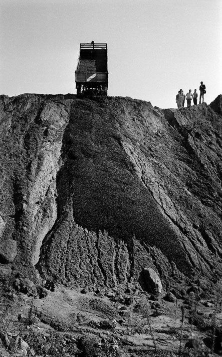 Robert Smithson, Claudio Abate, USA, 1969.