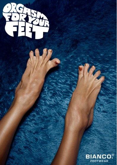 Orgasm for you feet - Bianco Footwear