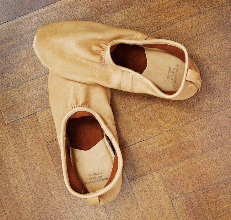 Thurlow Thurmocs American Deerskin Slippers