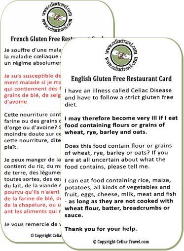 lexicon voyager sans gluten / travel glutenfree