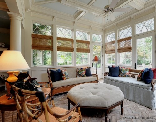 Half walls on the porch for the home pinterest half for Half deck house designs
