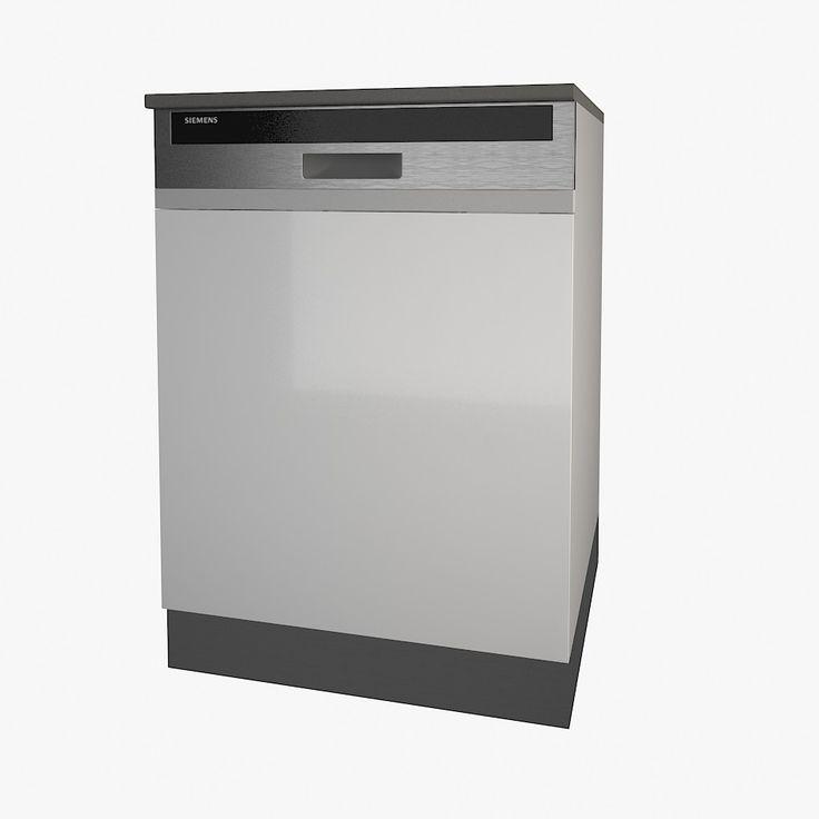 3Ds Siemens Dishwasher - 3D Model