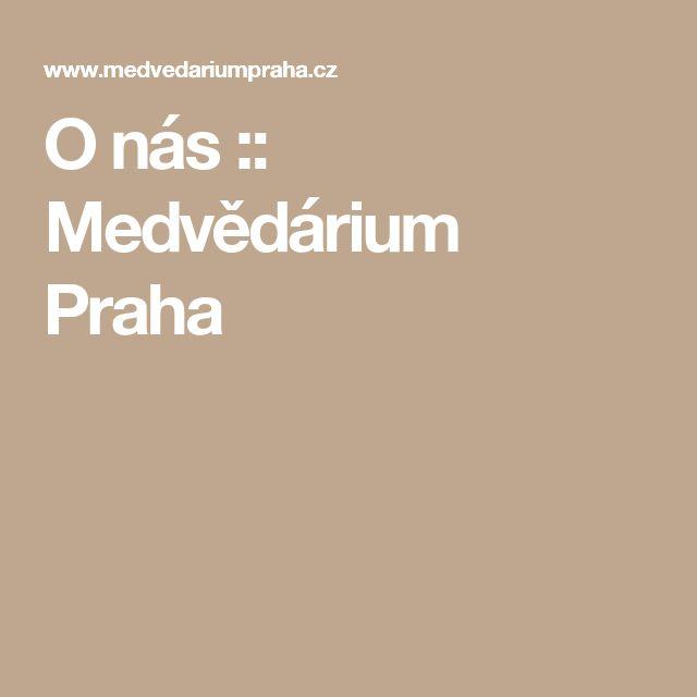 O nás :: Medvědárium Praha