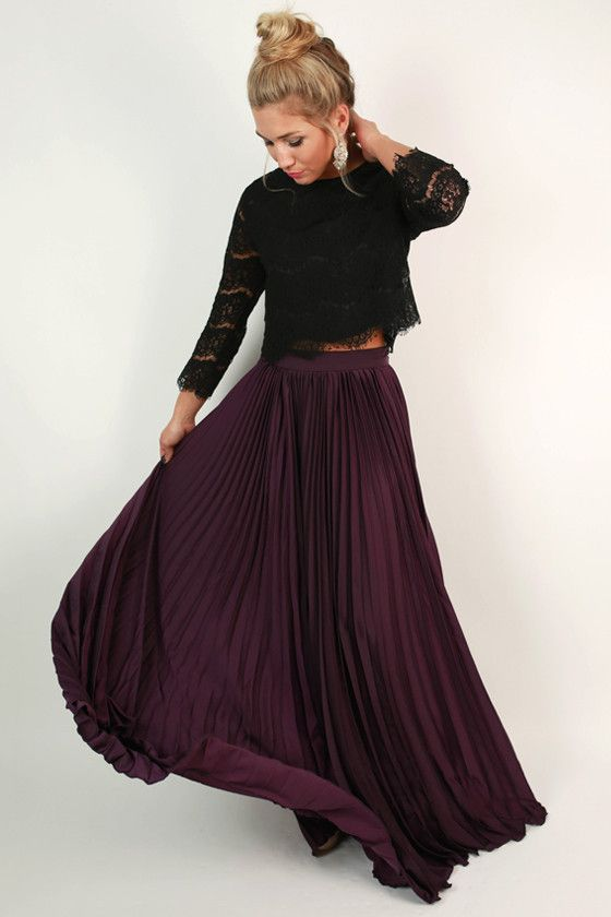 black maxi skirt outfit ideas winter wwwpixsharkcom