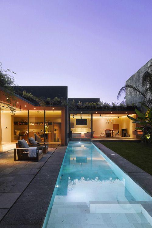 59 best Maison moderne images on Pinterest Modern houses, Tiny