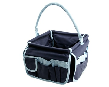 Now this is another neat organizer that can be used for cosmetics!!!Stuff Buckets, Blue Squares, Trav'Lin Lights, Squares Stuff, Neatnix Offering, Navy, Zulily Today, Lights Blue