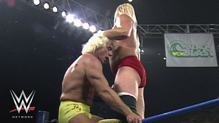 WWE Network: Ric Flair vs. Barry Windham - WCW Beach Blast 1993