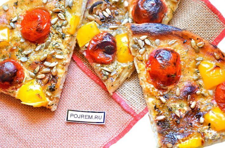 пицца без сыра