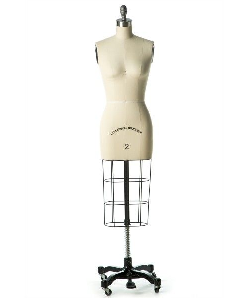 Professional Female Dress Form w/ Collapsible Shoulders $225  collapsible shoulders help fit sleeves