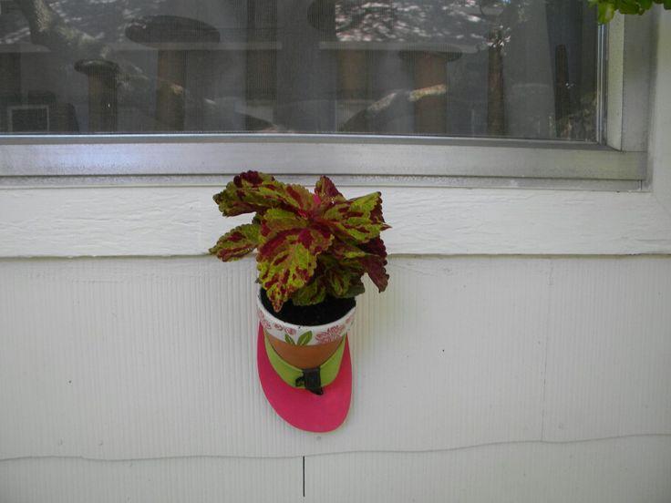 Flip-flop planter