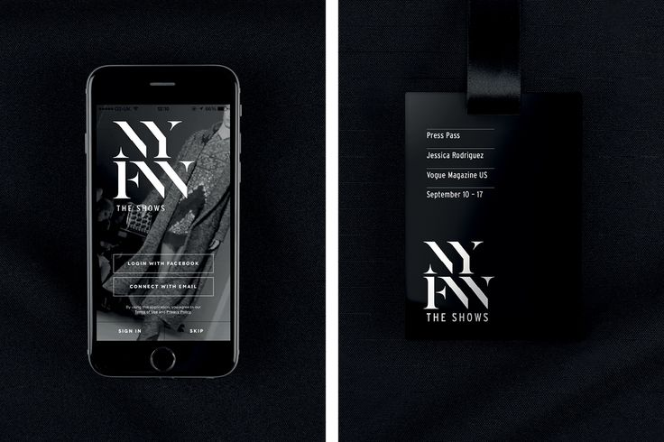 New York Fashion Week on Behance