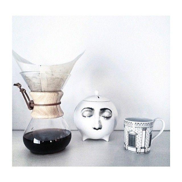 Good Morning Tuesday  Insert coffee to begin, _________  Image by @___________t____________  _______  #GoodMorning #Fornasetti #TuesdayFeel #PieroFornaseti #CoffeeTime #DesireToInspire