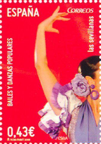 Spain - Las sevillanas, bailes y danzas populares, detail