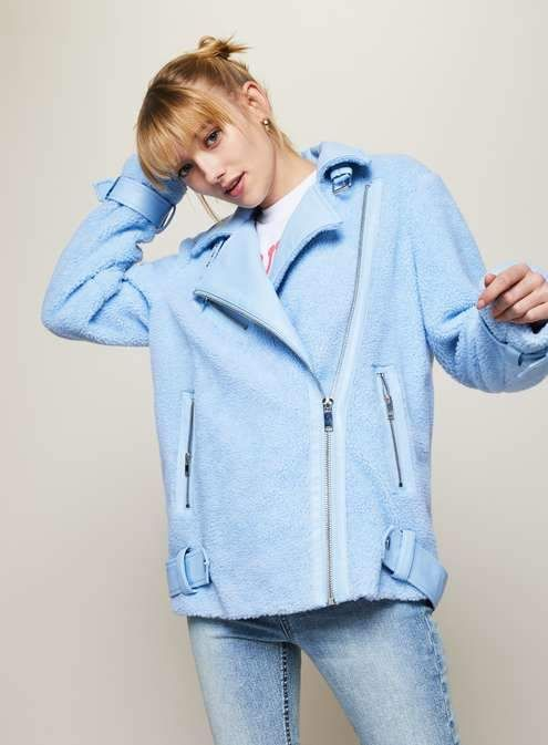 Blue borg coat