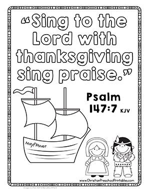 catholic coloring pages thanksgiving printable - photo#41