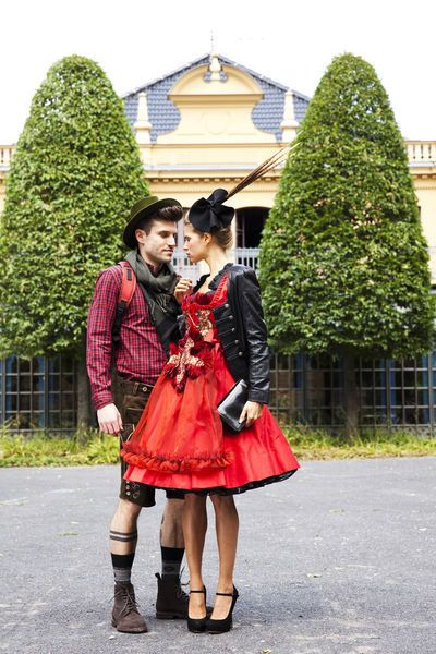 Wiesn outfit for fall 2013