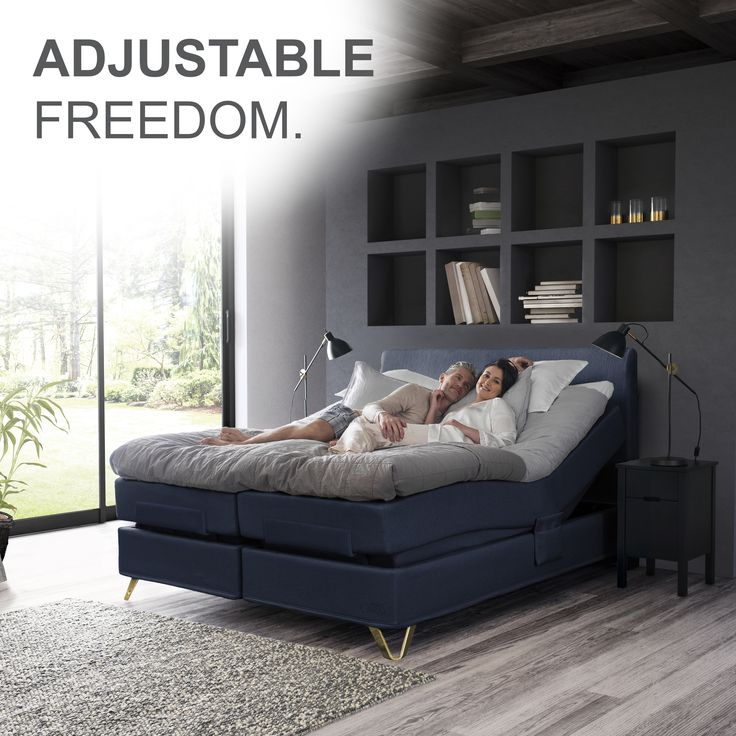 Adjustable freedom with an adjustable bed! An adjustable bed increases your freedom to do activities like reading or watching television. All Jensen adjustable beds can be adjusted both at the head and the foot of the bed.