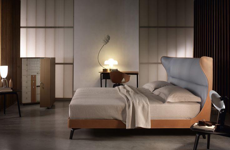 MAMY BLUE BED, design Roberto Lazzeroni  http://poltronafrau.com/it/catalogo/la-notte/mamy-blue-bed