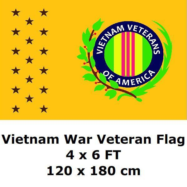 Vietnam Veterans Of America Flag 120 x 180 cm Vietnam War 1959 - 1975 US USA America Military Commemorative Flags and Banners