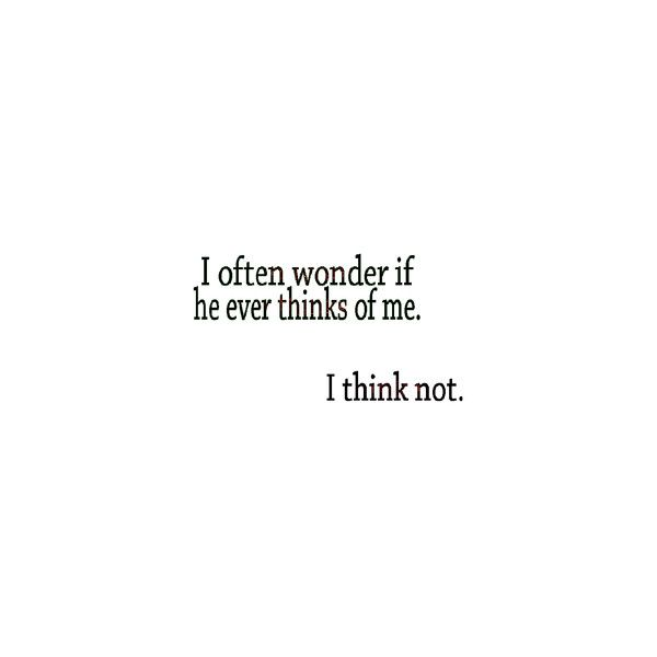 Sad_Quote that's amore ❤ liked on Polyvore