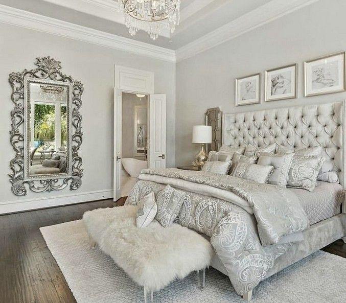 40 Luxury Bedroom Design Ideas You Need To Try In 2020 Romantic Bedroom Decor Master Bedrooms Decor Luxurious Bedrooms