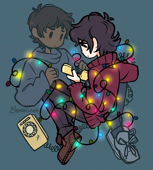 """""""I don't care if anyone else believes me"""" Stranger Things and Voltron crossover, Klance, Elentori art on tumblr"""