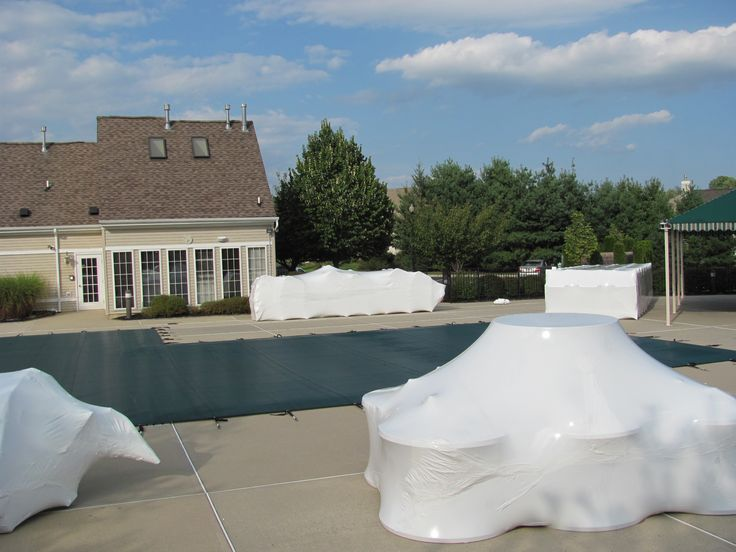 Outdoor furniture is Enjoyable, Keep it Looking Great by Storing it Outdoors with Shrink Wrap   The Roll - Shrinkwrapping for Consumers & Industry
