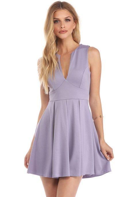 Lavender skater dress  a27bfce623