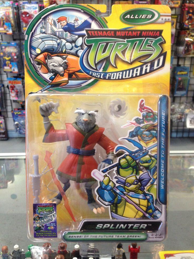 Playmates Teenage Mutant Ninja Turtles Fast Forward Splinter