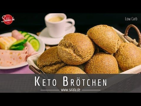 Keto-Brötchen oder auch Low Carb Sonntags Semmeln | Low Carb mit Vroni & Nico