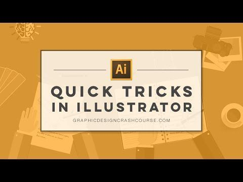 I've been using Illustrator for a while, but sometimes it's nice to remember some very basic features and good to share them too- Quick tricks in Adobe Illustrator | Tutorial for Beginner's - Becky Kinkead Designs