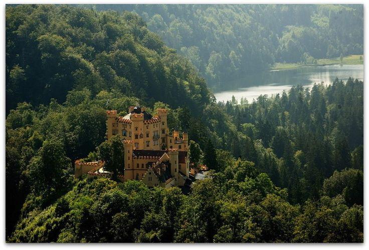 Замок Хоэншвангау, Бавария, Германия - Все самое интересное о странствиях и туризме