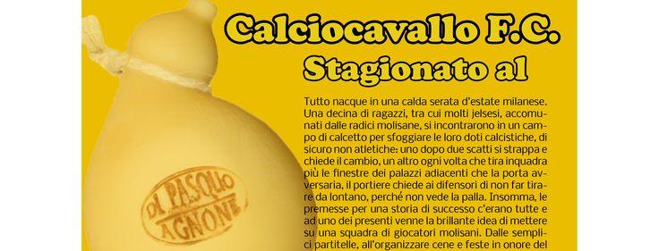 Dopo #Primonumero il #Calciocavallo approda sulla rivista di #Santamanzio. Tutti i dettagli sul #blog del #caseificiodipasquo